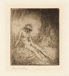 5B: John (Augustus) nude girl with an urn (c./d.109)