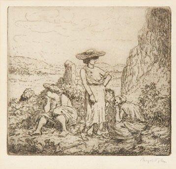 6B: John (Augustus) quarry folk no.2 (c./d.84)