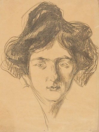 9B: Munch (Edvard) berliner madchen (w.461; sch.253)