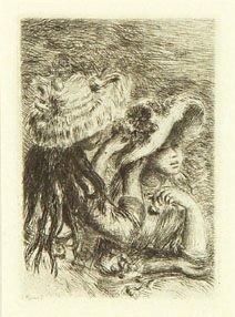 10B: Renoir (Pierre-Auguste) le chapeau epingle (d.8)