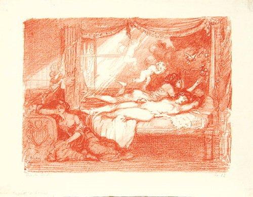 14B: Conder (Charles) cupids hour; schaunards studio;
