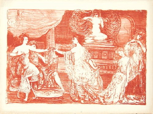 16B: Conder (Charles) the maypole; the dressing room;