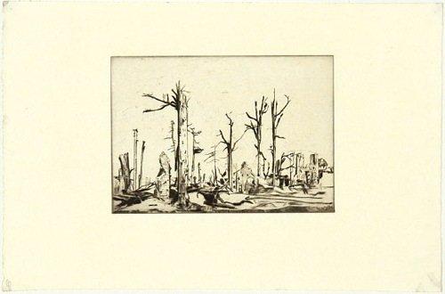 20B: Rothenstein (William) landscapes of the war