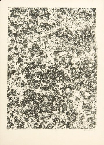 219B: Dubuffet (Jean) from. les phenomenes, amas; and r