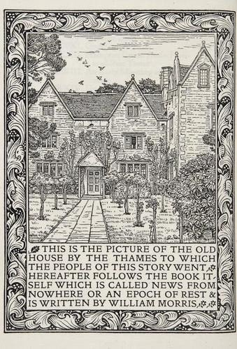 679: Kelmscott Press.- Morris (William) News from Nowhe