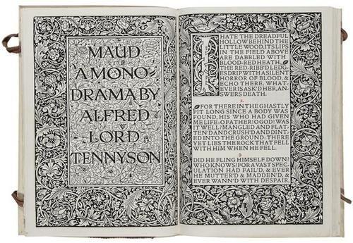 680: Kelmscott Press.- Tennyson