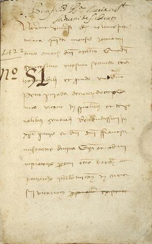 14: Catalonia.- Beneficius Ba- Maria St Sadurni de Sib