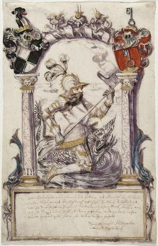 15: Sixteenth century German Portraits.-