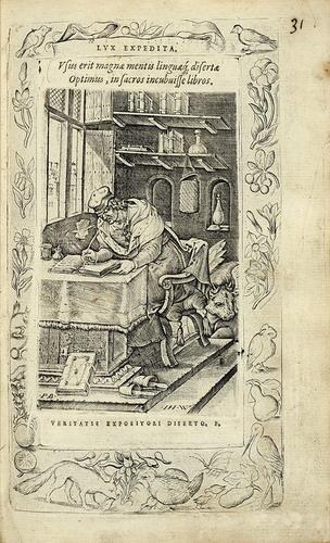 244: Arias Montanus (Benedictus) Humanae Salutis Monume