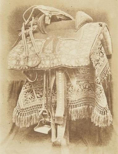 2: Hugh Owen (1808-1866) Embroidered Saddle, India, 1