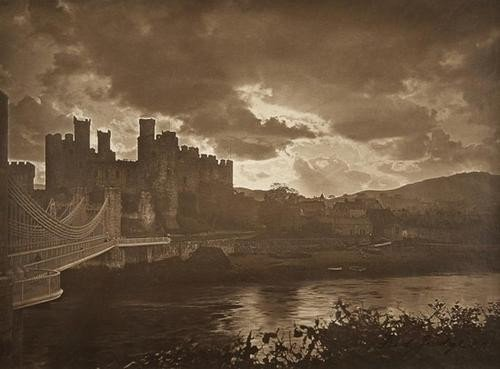 13: Fred Judge (1872 - 1950) Conway Bridge and Castle