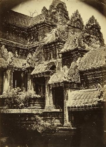 23: Emile Gsell (1838-1879) The Temple of Angkor Wat,