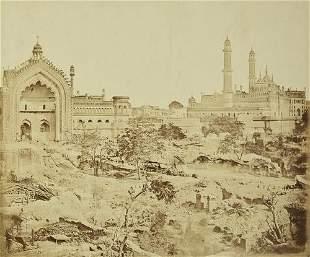 34: Felice Beato (1832-1909) The Rumi Gate and Emanbar