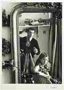 89: Edouard Boubat (1923-1999) Self-portrait in Mirror