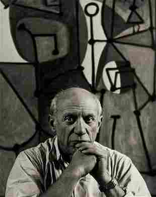 93: Herbert List (1903-1975) Pablo Picasso with La Cui