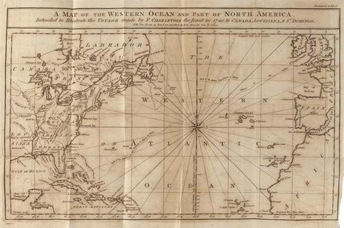 16: -. Charlevoix (P.F.X.de) Journal of a Voyage to No