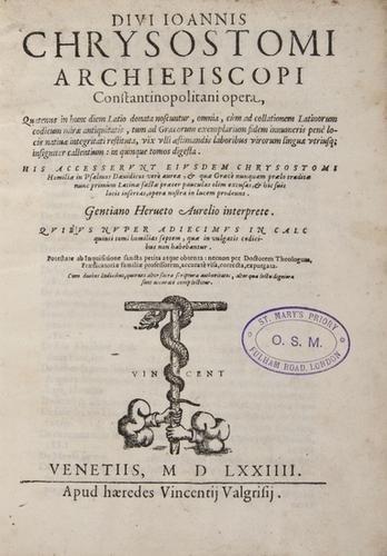 5: (Sir Francis) De augmentis scientiarum libri ix, e