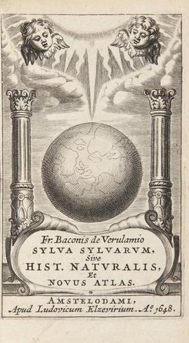 6: (Sir Francis) Sylva sylvarum, sive historia natura