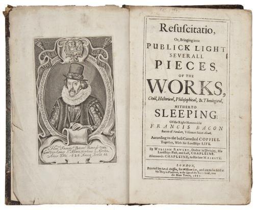 8: (Sir Francis) Resuscitatio, or...Several Pieces of