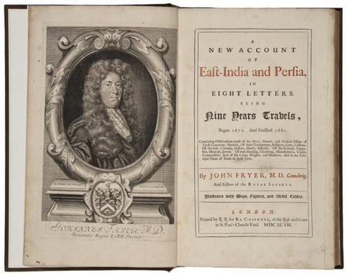 175: -. Fryer (John) A New Account of East-India and Pe