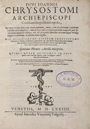 5: Johannes Chrysostomus 1574