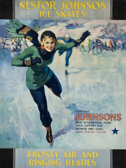 11: ANONYMOUS NESTOR JOHNSON ICE SKATES