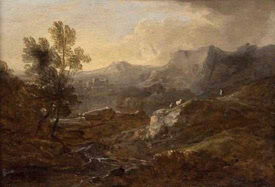 281: Benjamin Barker of Bath (1776-1838) Mountainous la