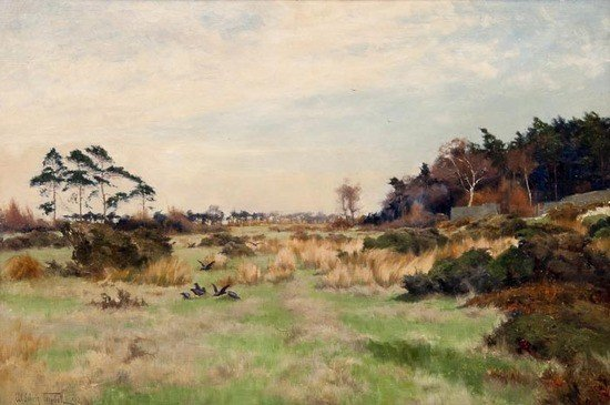 291: William Edwin Tindall RBA (1863-1938) Near Harewoo