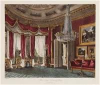 517: After Charles Wild 10 interior views of Carlton Ho