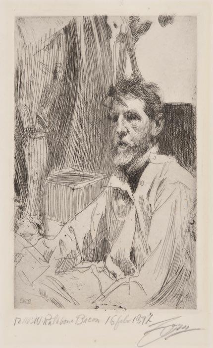 624: Anders Zorn August Saint Gaudens I