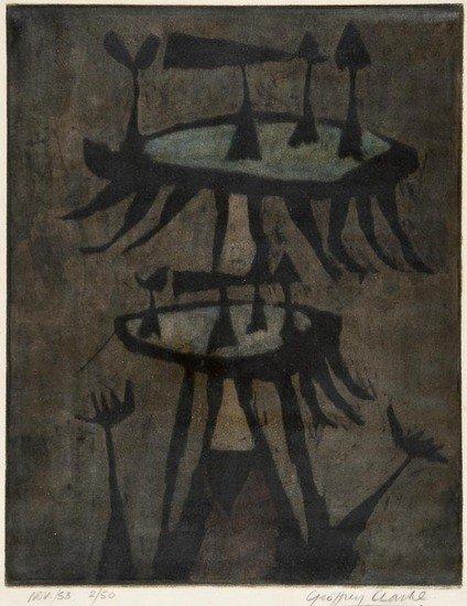 8: Geoffrey Clarke (b.1924)