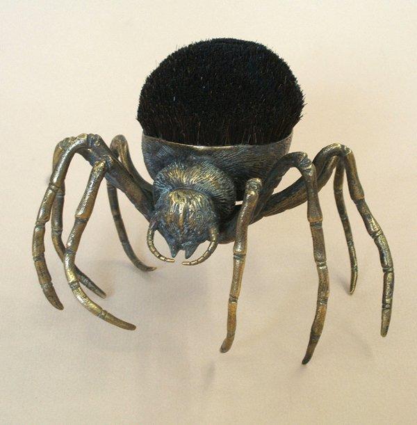 21A: A BRASS 'SPIDER' PENWIPE, 1880s-90s