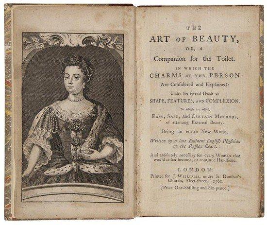 345: Perfume & Beauty.- The Art of Beauty, Or, A Compan