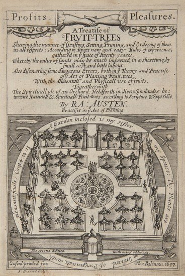 11: Austen (Ralph) A Treatise of Fruit-Trees.