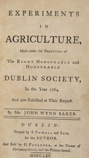 16: Baker (John Wynn) Experiments in Agriculture, made