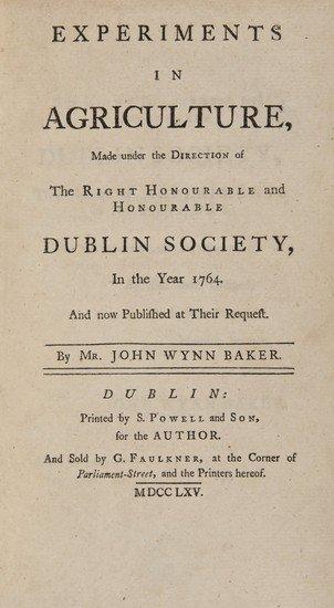 17: Baker (John Wynn) Experiments in Agriculture