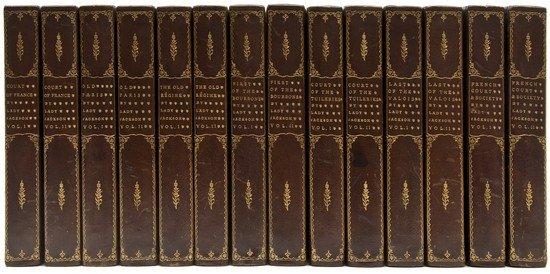 18: (Catherine Charlotte, Lady) Works, 14 vol., plates