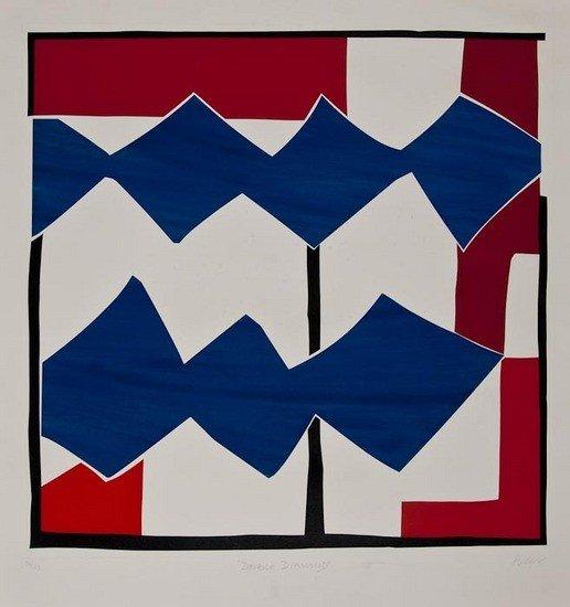 4: Sandra Blow (1925-2006) Double Diamond