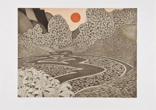 7: John Brunsdon (b.1923) Solva; Rydal; River Wye
