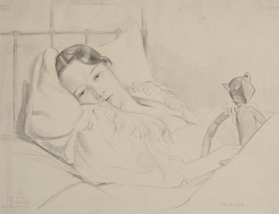 8: John Buckland-Wright (1897-1954) Mildred Anderson