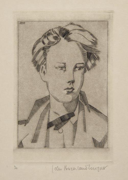 16: John Buckland-Wright (1897-1954) Portrait of Arthu