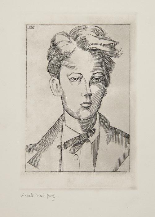 17: John Buckland-Wright (1897-1954) Portrait of Arthu