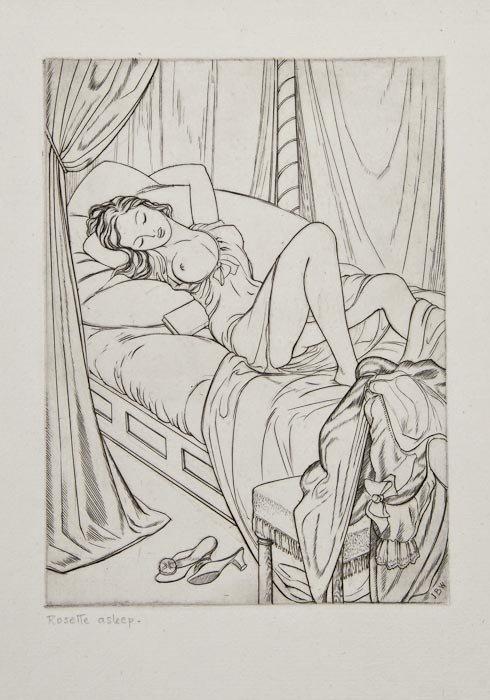 24: John Buckland-Wright (1897-1954) Rosette Asleep