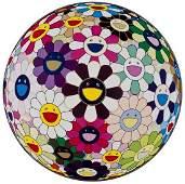 292: Takashi Murakami (b.1963) Flowerball Brown