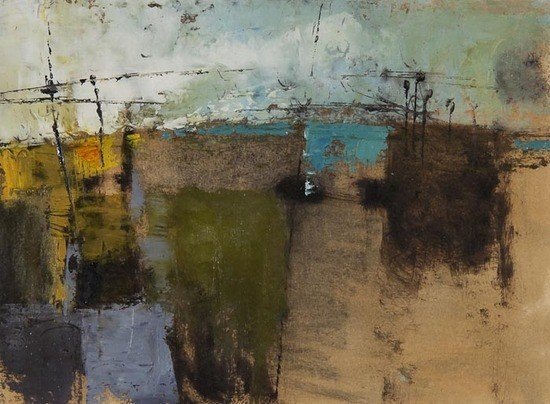 17: Donald Hamilton Fraser (b.1929) Horizontal beachsc
