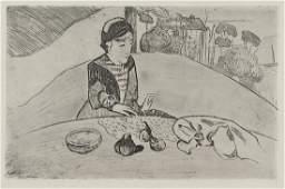 336: Paul Gauguin (1848-1903) La Femme aux Figues (K.25