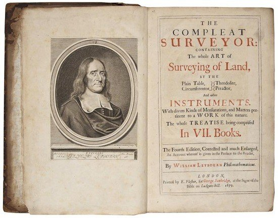 13: Leybourn (William) The Compleat Surveyor