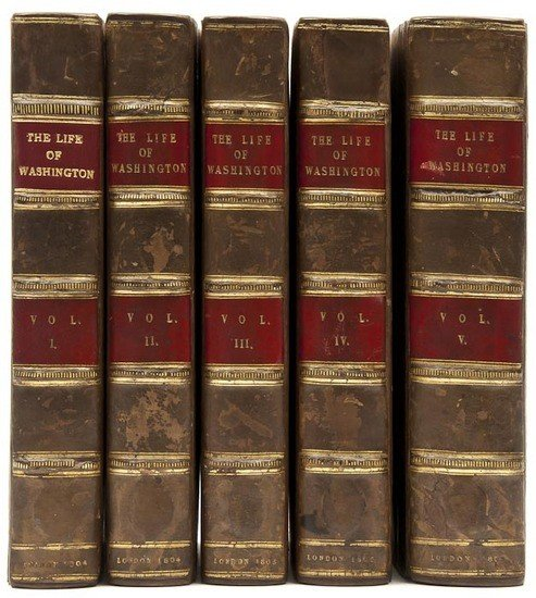 308: Marshall (John) The Life of George Washington