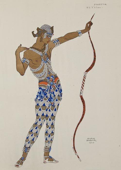 459: Barbier (George) Vingt-Cinq Costumes pour le Théat