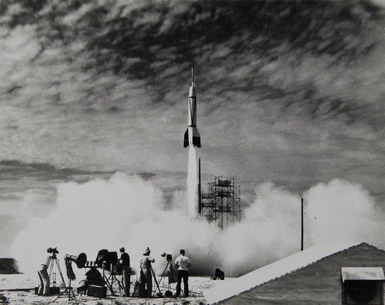 1: The first rocket launched from Cape Canaveral, 24